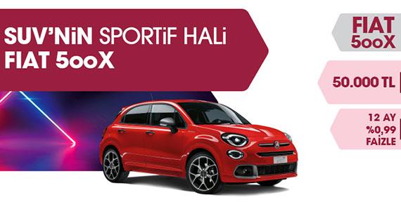Fiat 500X'de Bahar Fırsatı