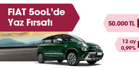 Fiat 5ooL'de Yaz Fırsatı