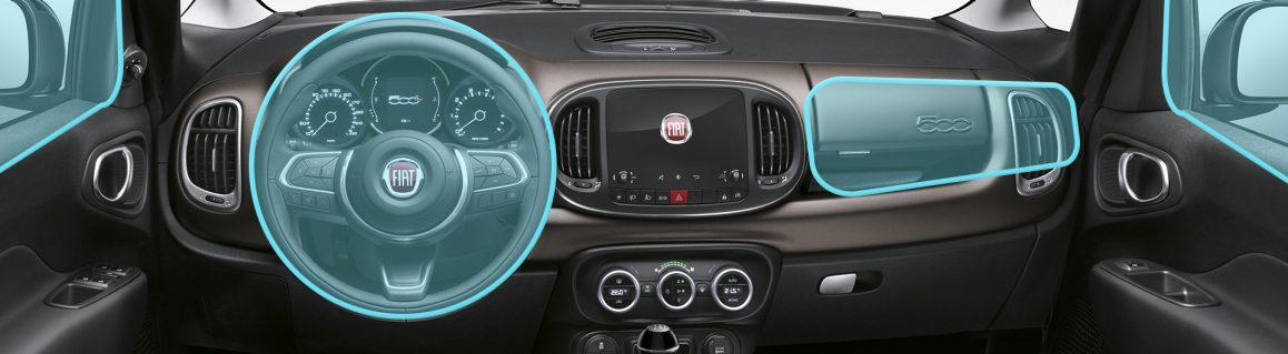 500L sicurezza airbag