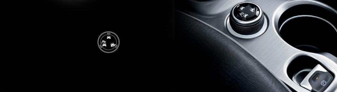 500X Off-Road Tarzı sürüş modu seçici