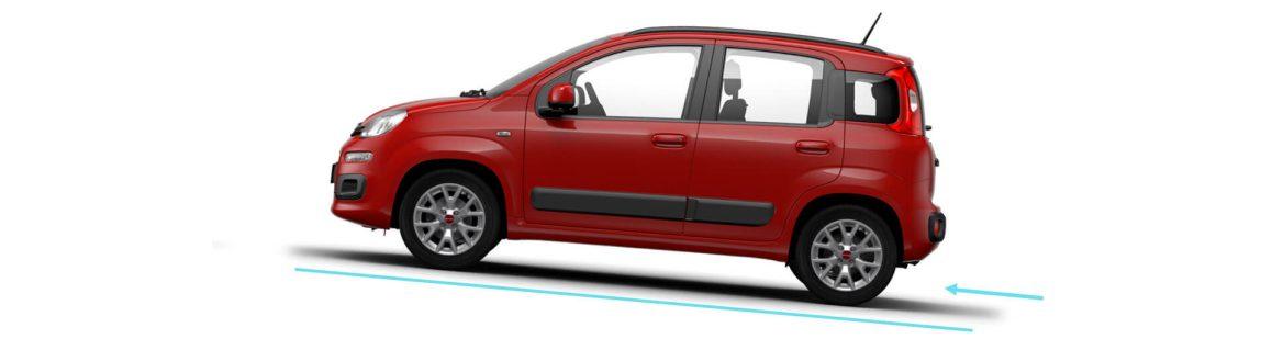 Fiat Panda – Yokuş Yukarı kalkış yardımcısı, yol tutuş