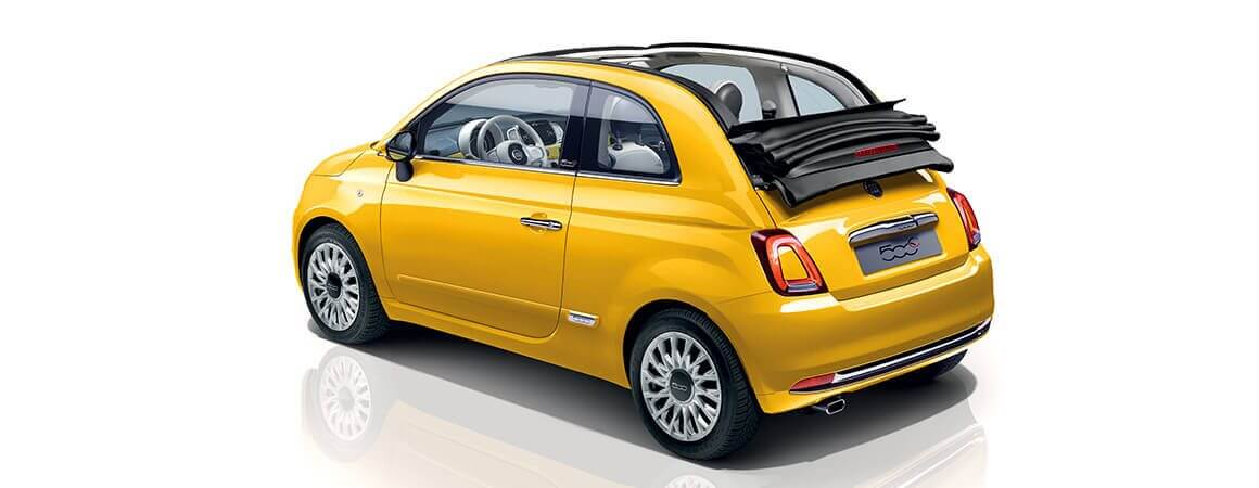Fiat 500C laterale