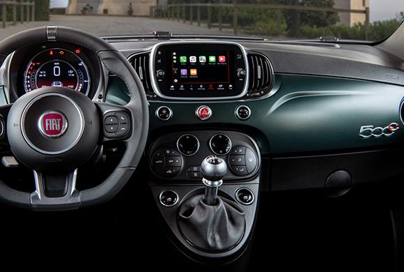 Sistema Uconnect Fiat 500C