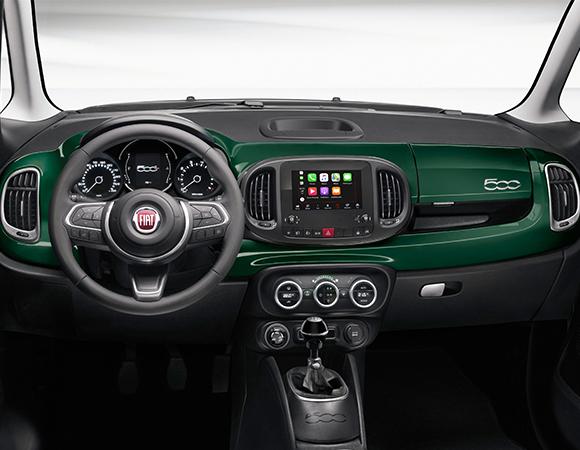 Fiat 500L panoramica