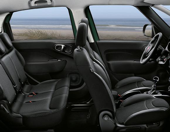 Fiat 500L posteriore
