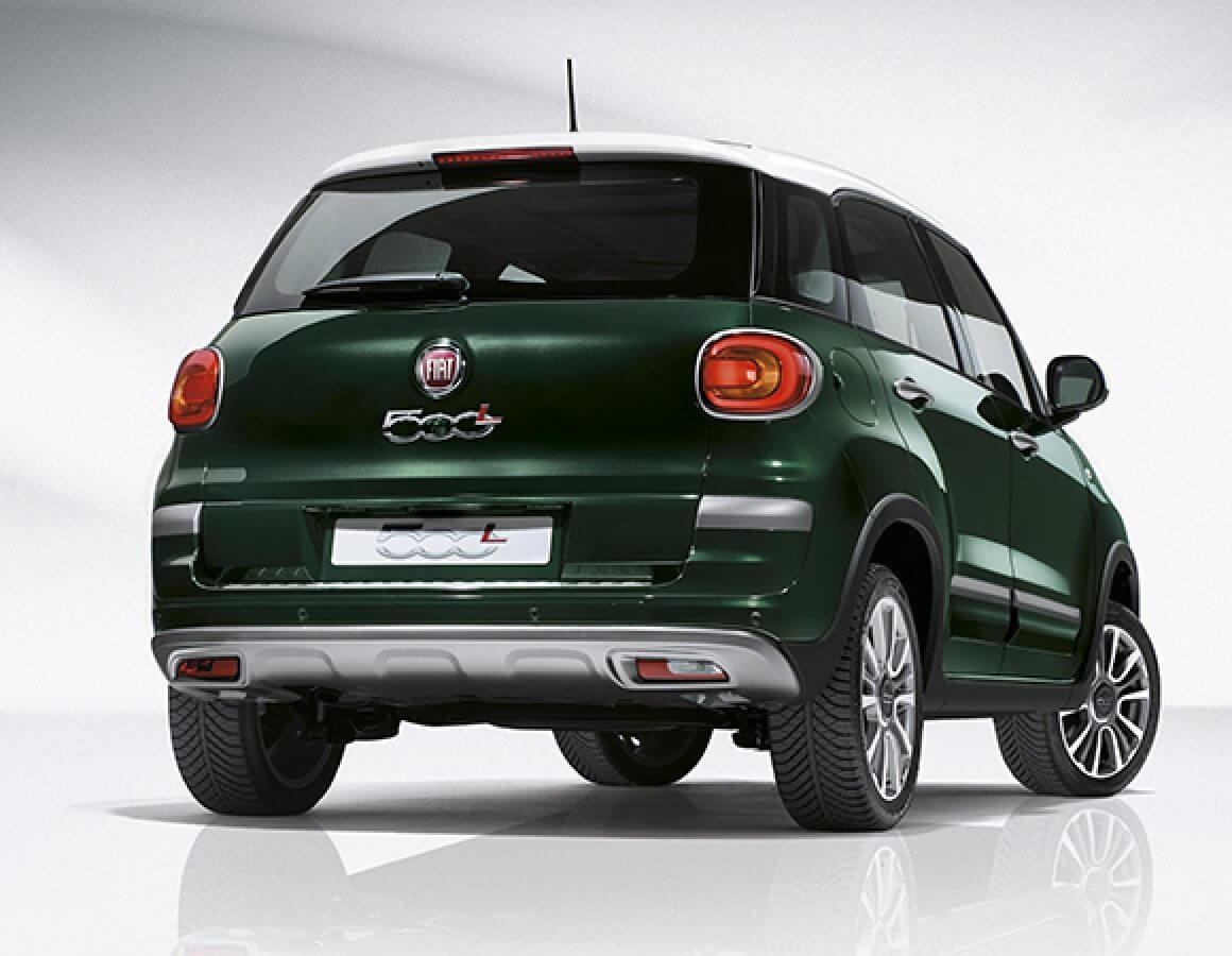 Fiat 500L Living posteriore