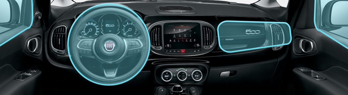 500L City Cross airbag safety