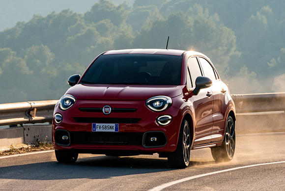 Poggiagomito interni Fiat 500X Off Road Look