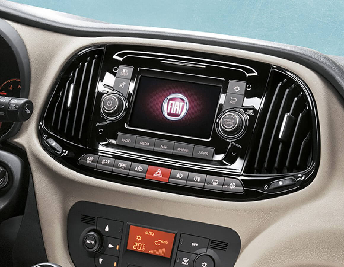Display autoradio Uconnect Fiat Doblò