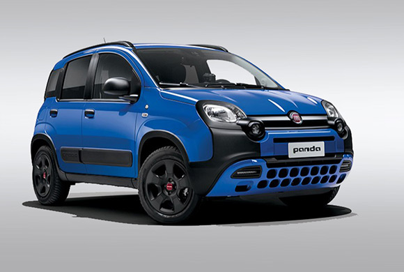 Interni Fiat Panda Cross