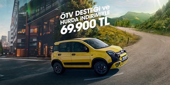 Fiat Panda ÖTV Desteği ve Hurda İndirimiyle 69.900 TL!